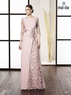 Super Ideas for dress winter bridesmaid haute couture Dress Brokat, Kebaya Dress, Abaya Fashion, Fashion Dresses, Fashion Shirts, Godmother Dress, Hijab Dress Party, Bridesmaid Dresses, Prom Dresses