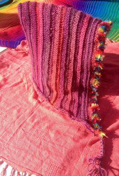 Crochet reversible adult hoodie velvet by WillowWolffCreations