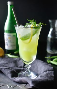 Pea and Sake Cocktail   10th Kitchen