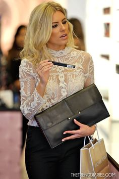 Mollie King out in Beverly Hills, California - November 2, 2012