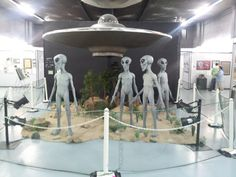 UFO Museum  Roswell, NM  aliens!
