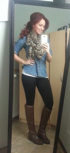 Understand Milf leggings and boots opinion you