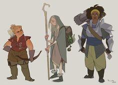 Adventurer ladies!