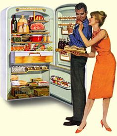 A Charmed Wife: The Big Chill: How To Clean Your Fridge