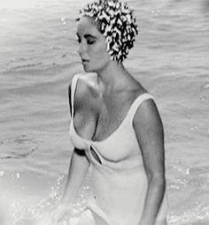 Elizabeth Taylor in 'Suddenly Last Summer', 1959.
