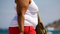 Breast cancers 'larger' in obese women  ||  Women with a higher body mass index might need more frequent mammograms, researchers suggest. http://www.bbc.co.uk/news/health-42025346