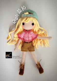 Crochet Doll Pattern Reyla 蕊拉