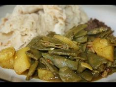 Curry Seim With Potatoes A Vegetarian Delight.