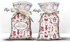 Karácsonyi álom zsák levendulával, karácsonyi tapéta