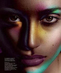 Maquiagem Artística na revista M   Artistic Make up