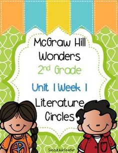 This resource was created to align with Wonders Unit 1 Week 1 Literature Circles. Literature Circles are embedded in Day 5 and this is a great way to implement them. Each sheet is labeled with the leveled reader color in order to easily differentiate.I use them in small groups, centers, and independent work.