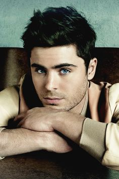 Zac Efron, a man after my heart