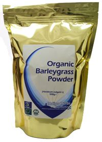Organic barley grass powder. Helps the body to detoxify by eliminating unhealthy bacteria which helps in restoring bowel health. - Highly alkalizing and packed with vitamins B1, B2, B3, B5, B6, B12, C, E, Folic Acid etc Ideal natural boost for your dog - let them lick it from your hands or add to water. They will self medicate with natural herbs if given the chance. You don't need to buy fancy supplements with bacon flavor, dog vitamins etc This is one of natures answers.
