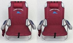 Camping accessories Tommy Bahama Backpack Beach Chairs 2016 / Red ** Additional details at this Camping accessories board Camping Supplies, Camping Hacks, Tommy Bahama Beach Chair, Camping Furniture, Camping Accessories, Beach Chairs, Outdoor Living, Backpacks, Red