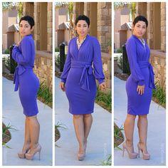 DIY Pullover Dress & Pattern Review V8825