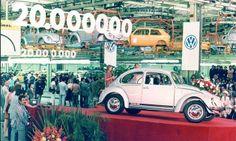 VW Beetle 20 Million Photo by: Volkswagen