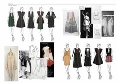 Fashion Sketchbook - fashion drawings; fashion design process; fashion portfolio // Amandine Piris