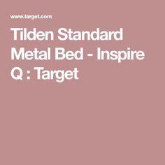 Tilden Standard Metal Bed - Inspire Q : Target