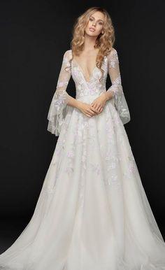 Featured Wedding Dress: Hayley Paige; www.jlmcouture.com/Hayley-Paige; Wedding dress idea.