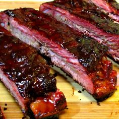 Chinese BBQ Ribs - Five Spice Pork Spare Ribs with Hoisin Honey Glaze with Pork Spare Ribs, Salt, Wh Pork Rib Rub Recipe, Pork Rib Marinade, Baked Pork Ribs, Pork Rib Roast, Ribs Recipe Oven, Boneless Pork Ribs, Bbq Pork Ribs, Pork Rib Recipes, Tres Leches Cake