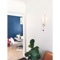 """@laneylainc: """"Our home studio is now accented by a lovely candle from Skultuna."""""""
