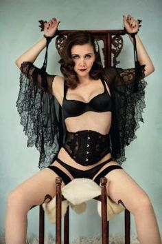 Agent Provocateur - luscious Maggie Gyllenhaal