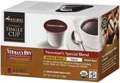Newman's Own Organic Special Blend Extra Bold K-cup for Keurig Brewers, 12-Count Boxes (Pack of 6) - http://thecoffeepod.biz/newmans-own-organic-special-blend-extra-bold-k-cup-for-keurig-brewers-12-count-boxes-pack-of-6/