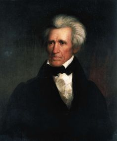 Portrait of Andrew Jackson, American politician, seventh President of the United States of America. Painting by Asher Brown Durand (1796-1886). New York, New York Historical Society
