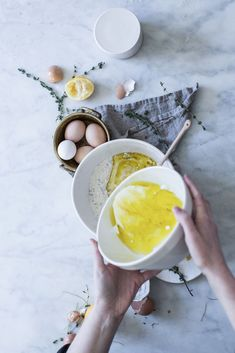 Local Milk | restorative tea hour & a lemon + thyme cornmeal cake