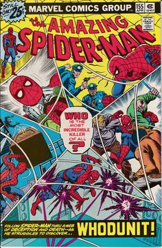 Amazing Spider-Man 155 April 1976 Issue  Marvel by ViewObscura
