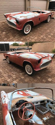 Project Cars For Sale, Ford Thunderbird, Convertible, Ali, Restoration, Projects, Log Projects, Infinity Dress, Blue Prints