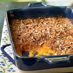 Recipe Makeover: Sweet Potato Casserole
