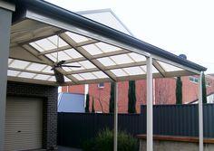 DMV Dutch Gable Steel Pergola Designs Adelaide