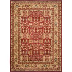 You'll love the Mahal Red/Natural Area Rug at Wayfair - Great Deals on all Décor  products with Free Shipping on most stuff, even the big stuff.