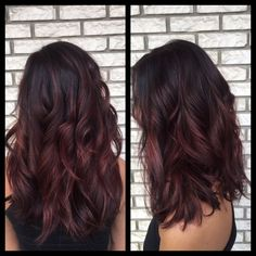 Burgundy balayage hair Must do hair color shades, balayage Burgundy color hair haircolorshades haircolorshadeschart hairgoals shades shadesofhair 636977941029596607 Burgundy Balayage, Auburn Hair Balayage, Balayage Brunette, Brunette Hair, Auburn Ombre, Auburn Red, Burgundy Hair Highlights, Red Balayage Highlights, Dark Red Hair Burgundy
