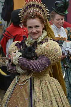 Truffle - Deirdre Sargent as Queen Elizabeth - NorCalRenFaire