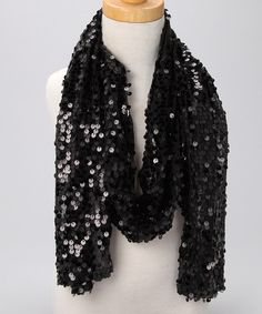 With filmy gauze construction and shimmering sequins, this fanciful scarf adds the perfect regal touch to any gorgeous getup. This versatile accessory can be worn any way a princess's royal heart desires.100% polyesterHand washRecommended for ages 3 to 10 yearsImported