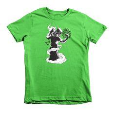 Zekliv the Mage Short Sleeve Kids T-Shirt