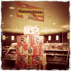 Hamsteréééén in Albert Heijn Stabroek