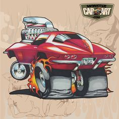 Pin By Jamie Jackson On Car Art photo ideas from Amazing Cars Photo Cartoon Car Drawing, Cartoon Art, Cartoon Characters, Weird Cars, Cool Cars, Ed Roth Art, Cartoons Magazine, Cool Car Drawings, Monster Car