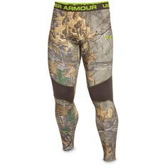94ae94a7a76dd Under Armour ColdGear Infrared Scent Control Tevo Leggings - 635786,  Underwear & Base Layer at Sportsman's Guide