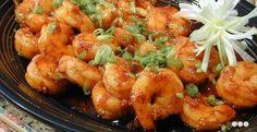 Stir-Fried Shrimp with Chili Sauce recipe, Filipino Recipes Filipino Recipes, Spicy Recipes, Shrimp Recipes, Asian Recipes, Filipino Dishes, Filipino Food, Asian Foods, Shrimp Stir Fry, Fried Shrimp