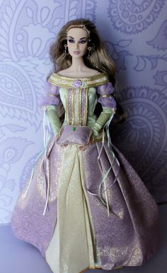 The Princess And Pea Napudollworld Tags Birthday Light White Diamonds Reflections Twilight Barbie Lavender Collection Wishes Gown Gala