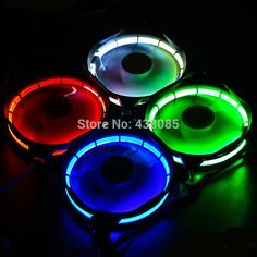 computer case fan led. cheap led case fan, buy quality fan directly from china red suppliers: computer eclipse led blue green light guide ring 2016 promotion