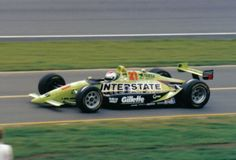 Jeff Andretti in 1993, one year after a devastating crash at Indy.