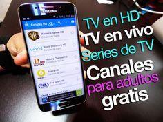 TV abierta y de paga GRATIS en tu Android - incluye canales para adultos ;)