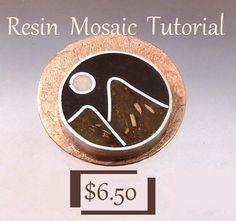 Resin Mosaic Jewelry Making Tutorial