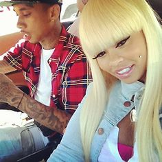 cute couple tyga & blac china