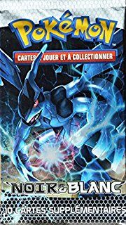 booster Pokémon Zekrom Noir et Blanc 10 cartes NEUF FR                                                                                                                                                                                 Plus