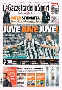 la prima pagina del 21 11 2012